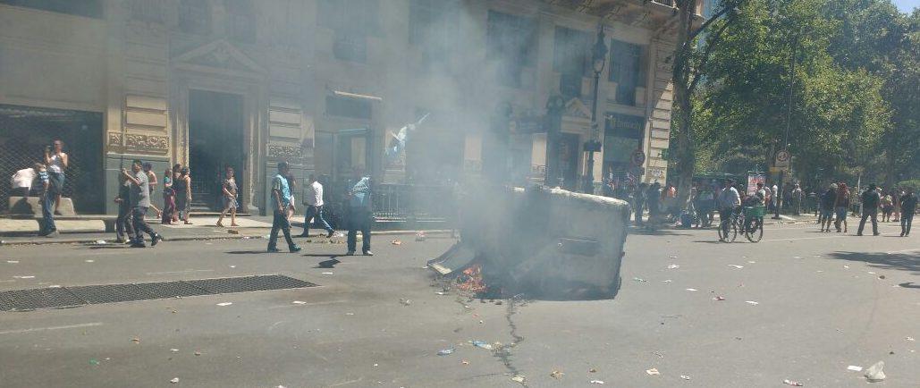 represión congreso uoma chacabuco