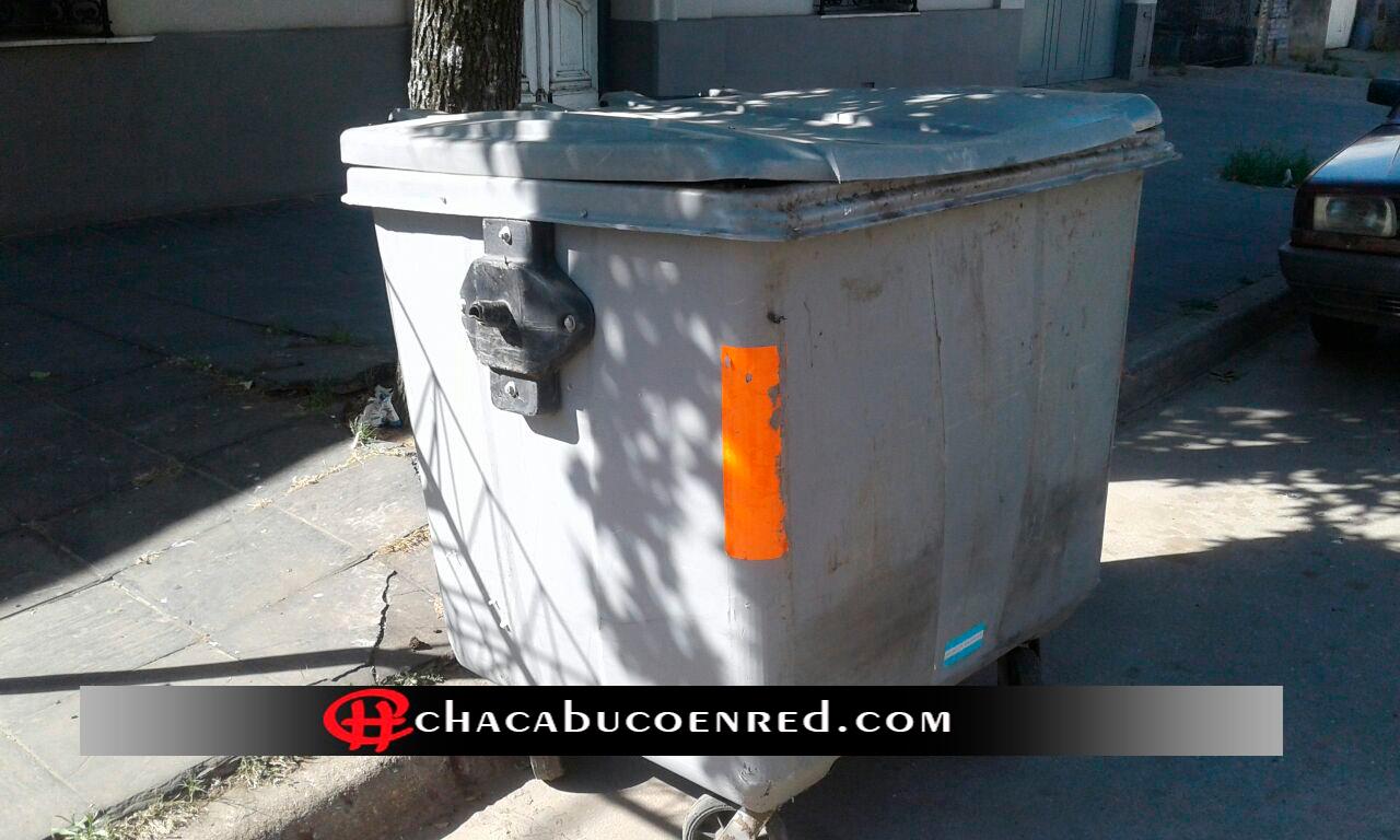 contenedor basura chacabuco