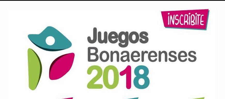 Juegos Bonaerenses 2018: inscripciones