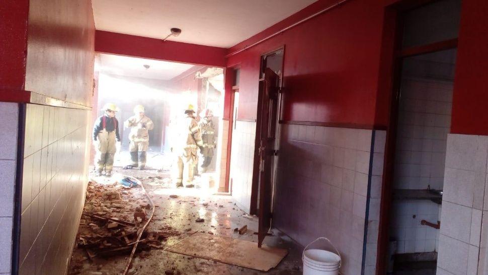explosion escuela moreno