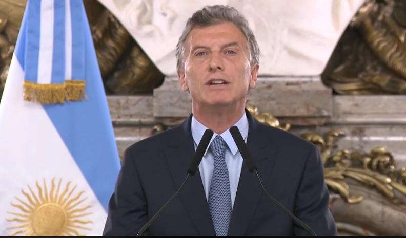 Macri hablará en cadena nacional por primera vez