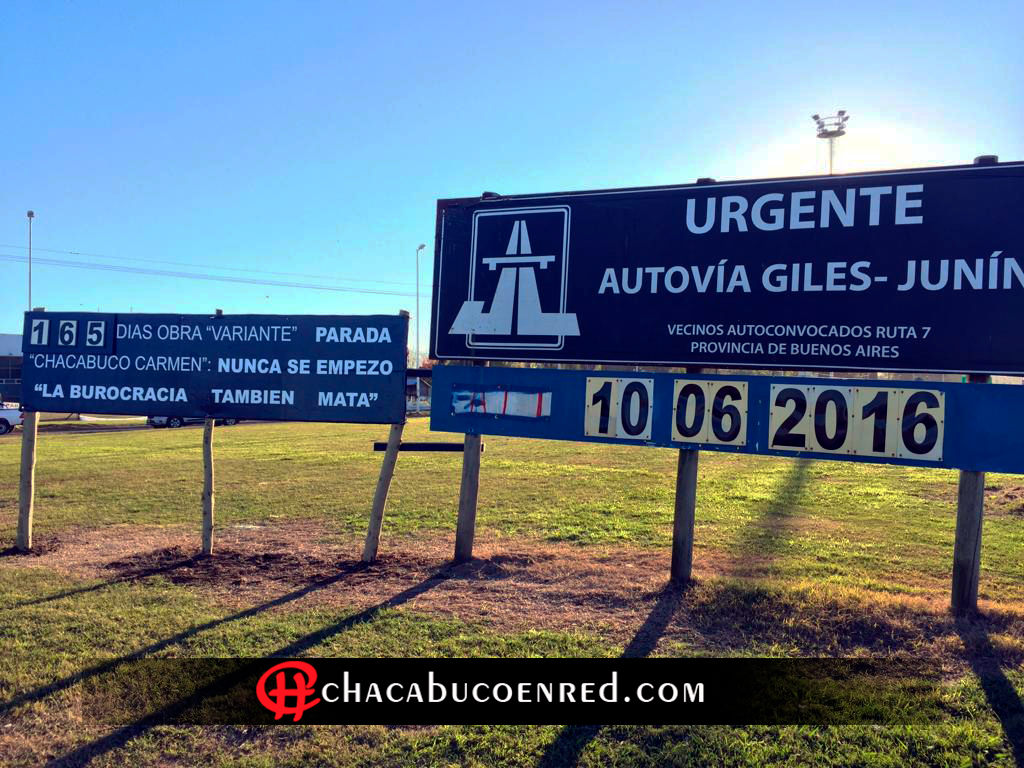 """""""La burocracia también mata"""", el nuevo cartel  de Autoconvocados"""