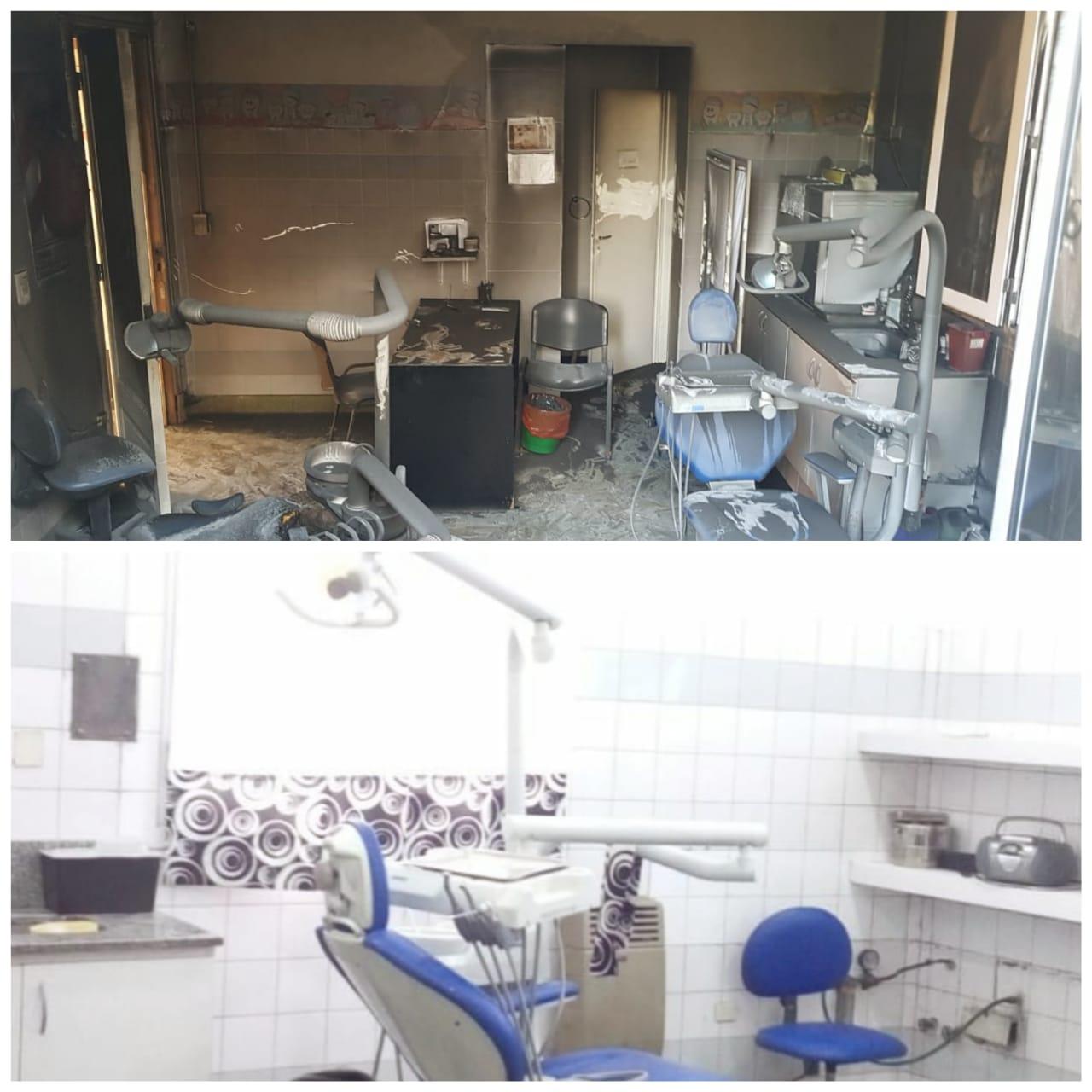 Refaccionaron la sala de odontología del Hospital
