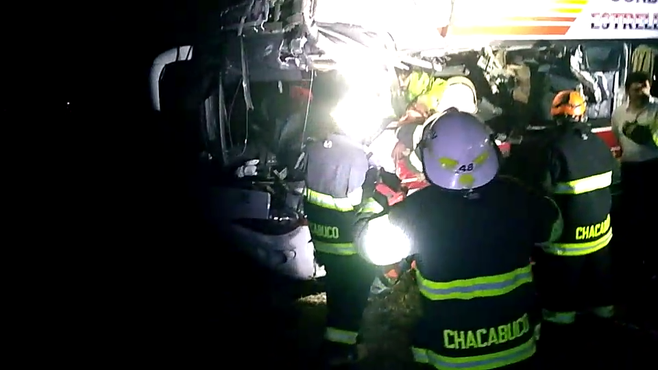 VIDEO: multiple choque en Ruta 7