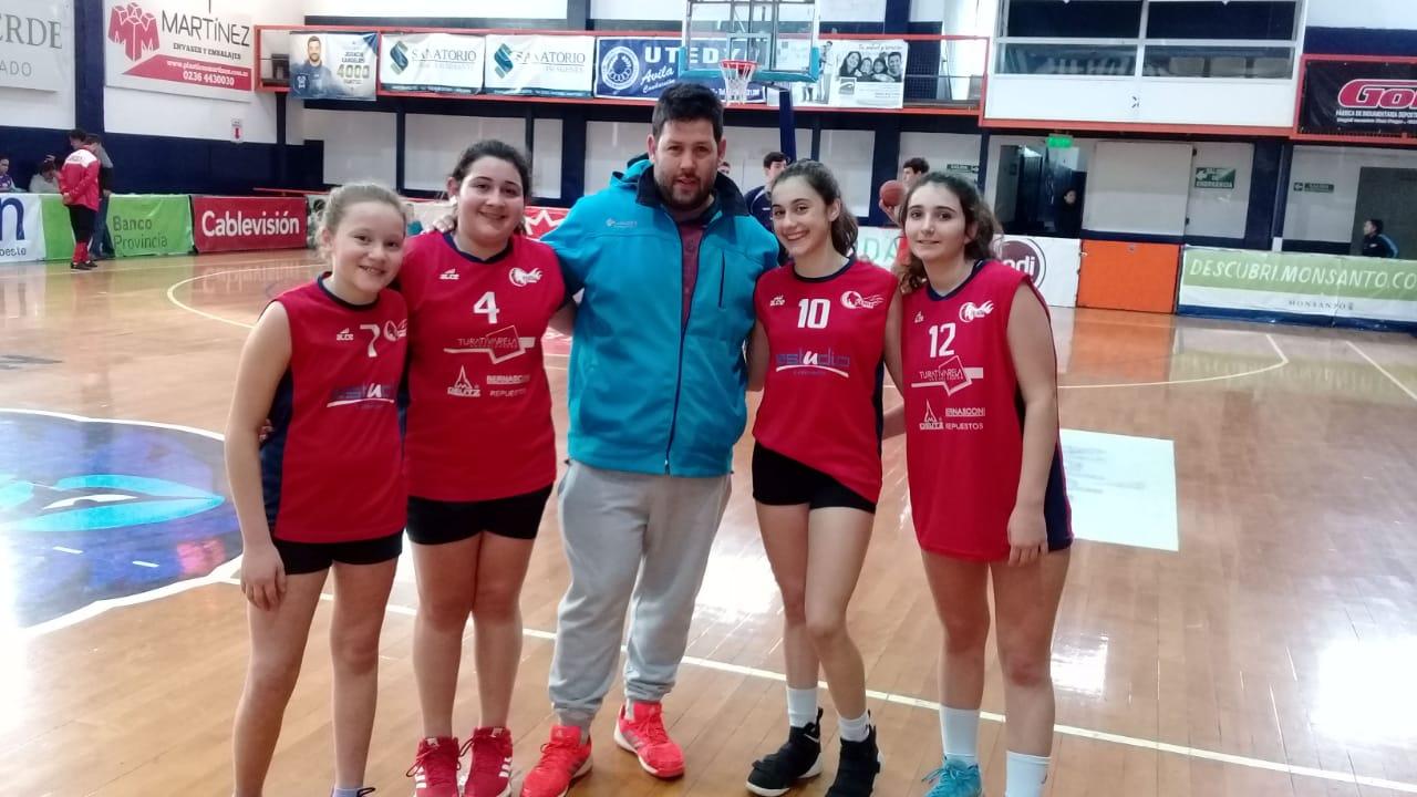 El básquet femenino avanzó a Mar del Plata en los Juegos Bonaerenses