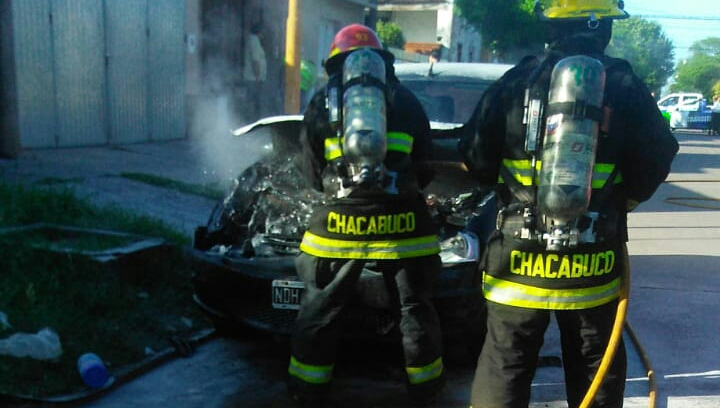Salida de bomberos