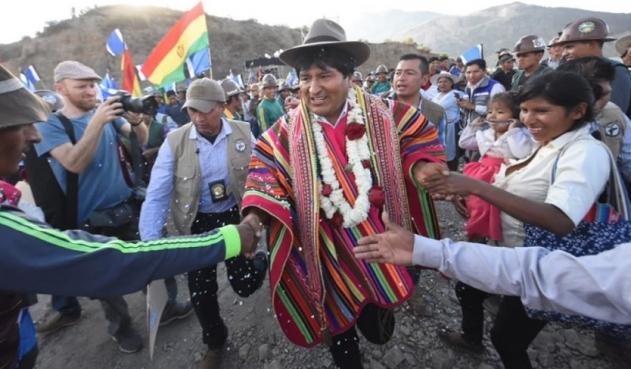 Lo de Bolivia se llama golpe de Estado