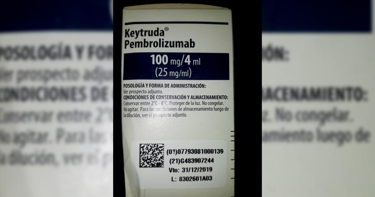 Se necesita con suma urgencia el siguiente medicamento