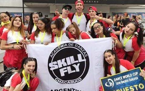 La Academia de Danza Skill Fly obtuvo el 2do lugar en el Dance World Cup