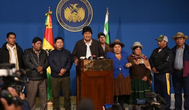 Dirigentes opinan sobre el golpe de estado en Bolivia