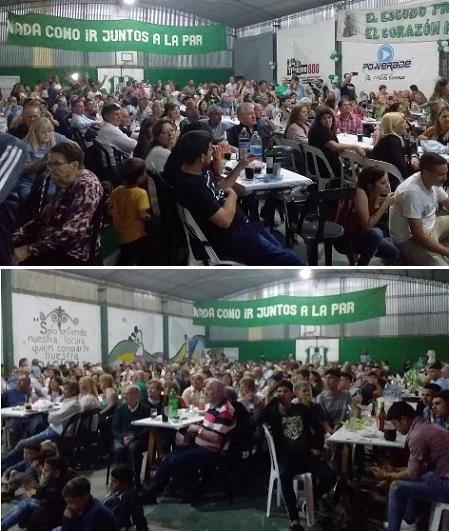 Cena fin de año del Club San Martín