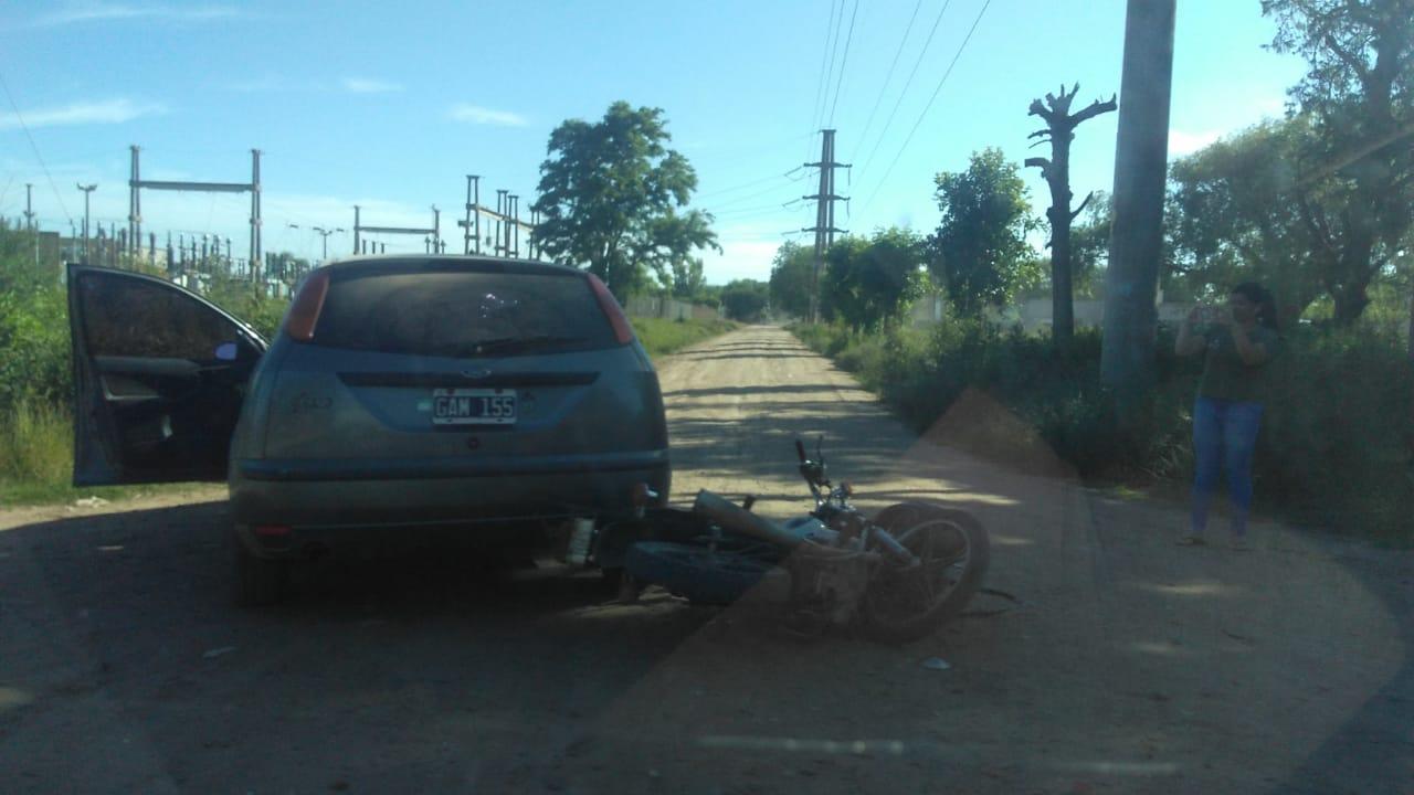 Un herido en accidente de tránsito