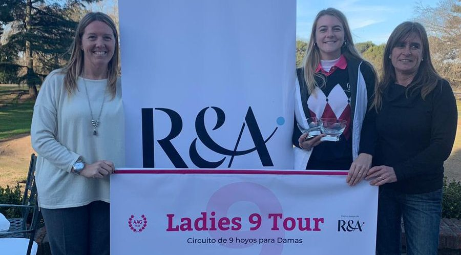 GOLF | Villanueva se impuso en la final del Ladies 9 Tour