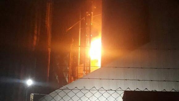 Detalles del grave incendio en el Molino