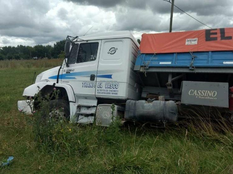Persecución y tiroteo tras el robo de un camión de Chacabuco en San Vicente